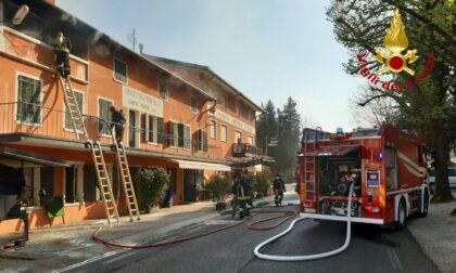 Santa Mama, principio d'incendio e fumo dai locali:  l'intervento dei Vigili del fuoco