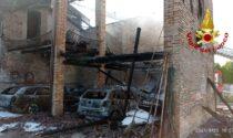 Il video e le foto dei danni provocati dall'incendio di Covolo: quattro residenti in ospedale