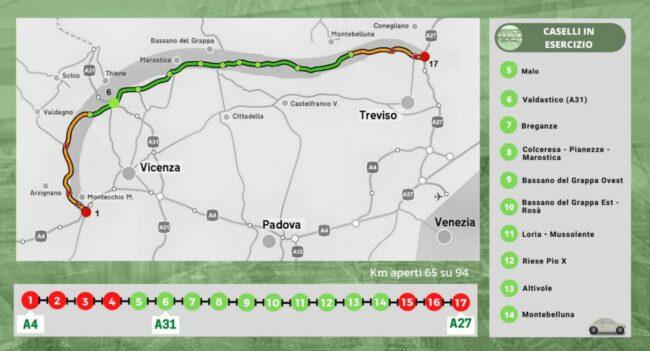 Superstrada Pedemontana Veneta, le foto dell'inaugurazione del tratto tra Bassano e Montebelluna