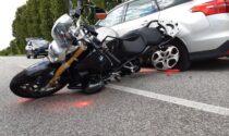 Incidente a Sandrigo, scontro tra auto e moto: coinvolto un 29enne trevigiano