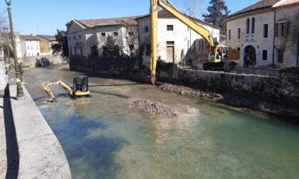 Fiume Meschio, lavori di messa in sicurezza a Vittorio Veneto, Colle Umberto e Cordignano