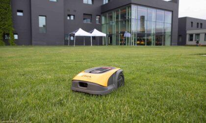 Nasce a Castelfranco un nuovo robot ad alta tecnologia per il taglio dell'erba
