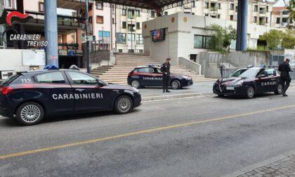 Carabinieri Conegliano, controllo straordinario del territorio: un arresto e 5 denunce
