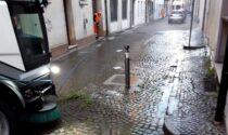 Castelfranco Veneto: Contarina pulisce portici, marmi e marciapiedi del centro storico