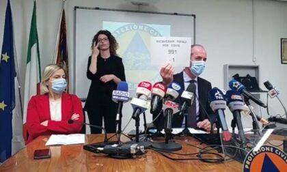 """Covid, Zaia: """"Prenotazione vaccini, da domani disponibili 80mila nuovi posti""""   +173 positivi   Dati 17 maggio 2021"""
