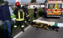 Montebelluna, scontro tra auto in via Feltrina: due feriti