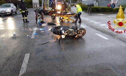 Incidente a Gorgo al Monticano: auto contro scooter, grave un ragazzo