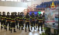 Vigili del fuoco, video e foto del giuramento degli allievi dell'89esimo corso al Polo didattico di Treviso