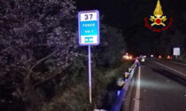 Tragico incidente lungo la SR 348: il motociclista Valerio Verardo finisce fuori strada e muore