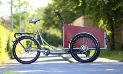 La consegna dei pacchi in centro storico solo con biciclette elettriche