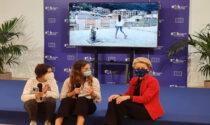 Ricevute da Ursula Von der Leyen le due ragazze liguri che giocavano a tennis da una terrazza all'altra