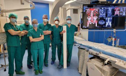 Aneurismi dell'aorta addominale, utilizzata una tecnica innovativa all'Ospedale di Conegliano