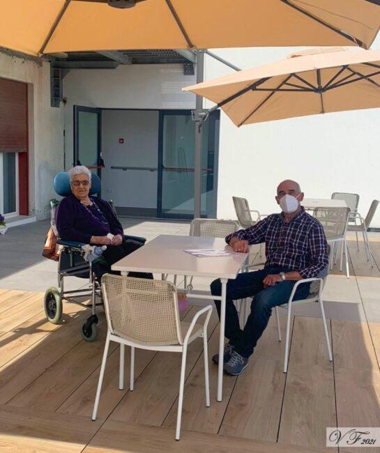 Villa Fiorita di Cornuda, riprese le visite dei familiari rispettando la nuova normativa