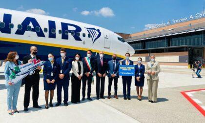 """Aeroporto Canova di Treviso, si torna a volare. Conte: """"Giornata storica"""""""