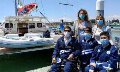 """Treviso Bulls, in carrozzina sul catamarano: il video di una """"esperienza unica"""""""