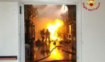 Le foto e il video dell'incendio nella ditta chimica a Fontane di Villorba