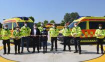 Tre nuove ambulanze per il Suem di Treviso