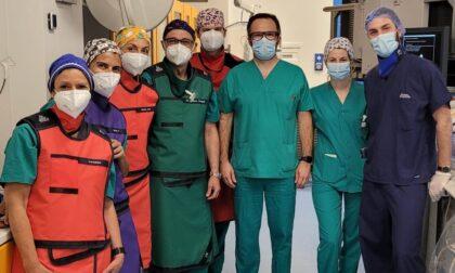 Ospedale di Conegliano, eseguito innovativo intervento di rimozione dei calcoli biliari