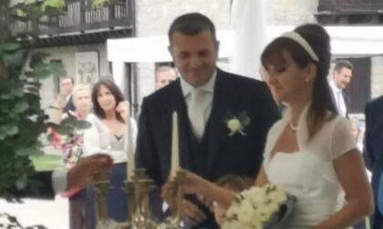 Matrimonio trevigiano per il senatore Centinaio, presente anche Salvini
