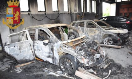 """Incendio carrozzeria Roggia, la """"scintilla"""" in rancori familiari: in carcere mandante e intermediari"""