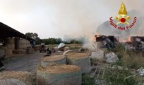 Zero Branco, a fuoco il pagliaio nell'azienda agricola: bruciata alcune balle di fieno