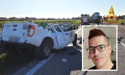 Incidente mortale Valentino Polato, indagato il camionista trevigiano: disposta perizia cinematica