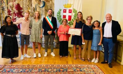 Dieci anni senza Andrea Pinarello, comune di Treviso consegna un attestato alla famiglia