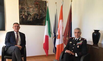 Treviso riceve il nuovo comandante dei carabinieri del Veneto