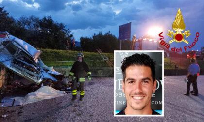 Perde il controllo dell'auto e finisce nel piazzale di un'azienda, morto calciatore 29enne