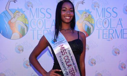 Miss Colà Terme, la finale regionale se l'aggiudica la 17enne trevigiana Gioia Ojoh