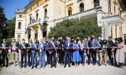 Villa dei Cedri, foto e video dell'inaugurazione della sede ufficiale dell'associazione per il Patrimonio delle Colline del Prosecco di Conegliano e Valdobbiadene
