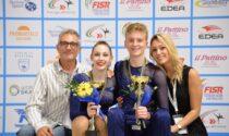 Riccardo e Vittoria della Pattinatori Sile di Silea si sono laureati campioni d'Europa