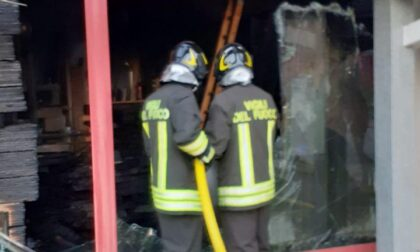 Incendio alla Trevi House di Villorba