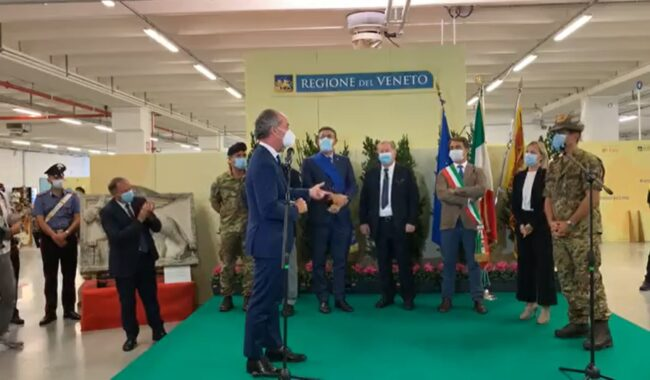"""Terza dose, il generale Figliuolo a Treviso: """"Veneto un modello"""""""