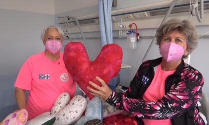 Monastier, un cuscino rosa in dono a tutte le donne operate di tumore al seno