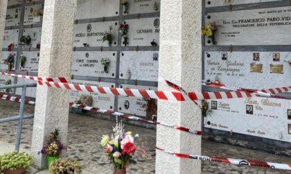 Cimitero di Montebelluna, cadono calcinacci dal soffitto: chiuse al pubblico le aree dell'ingresso principale