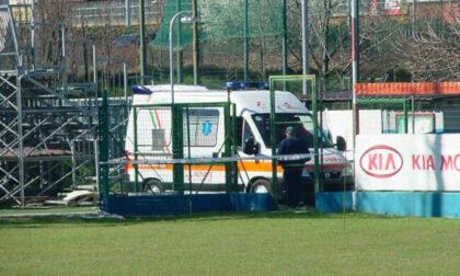Infarto sul campo da calcio a Treviso, giocatore salvato dai compagni di squadra