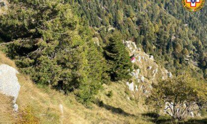 Precipita col parapendio sul Monte Grappa, grave un uomo